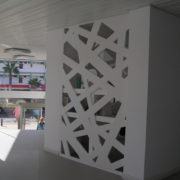 Celosía Beams Panel Composite Aluminio